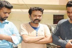 போலி ஏ.டி.எம். கார்டு மோசடி வழக்கில் 3 பேர் கைது !!